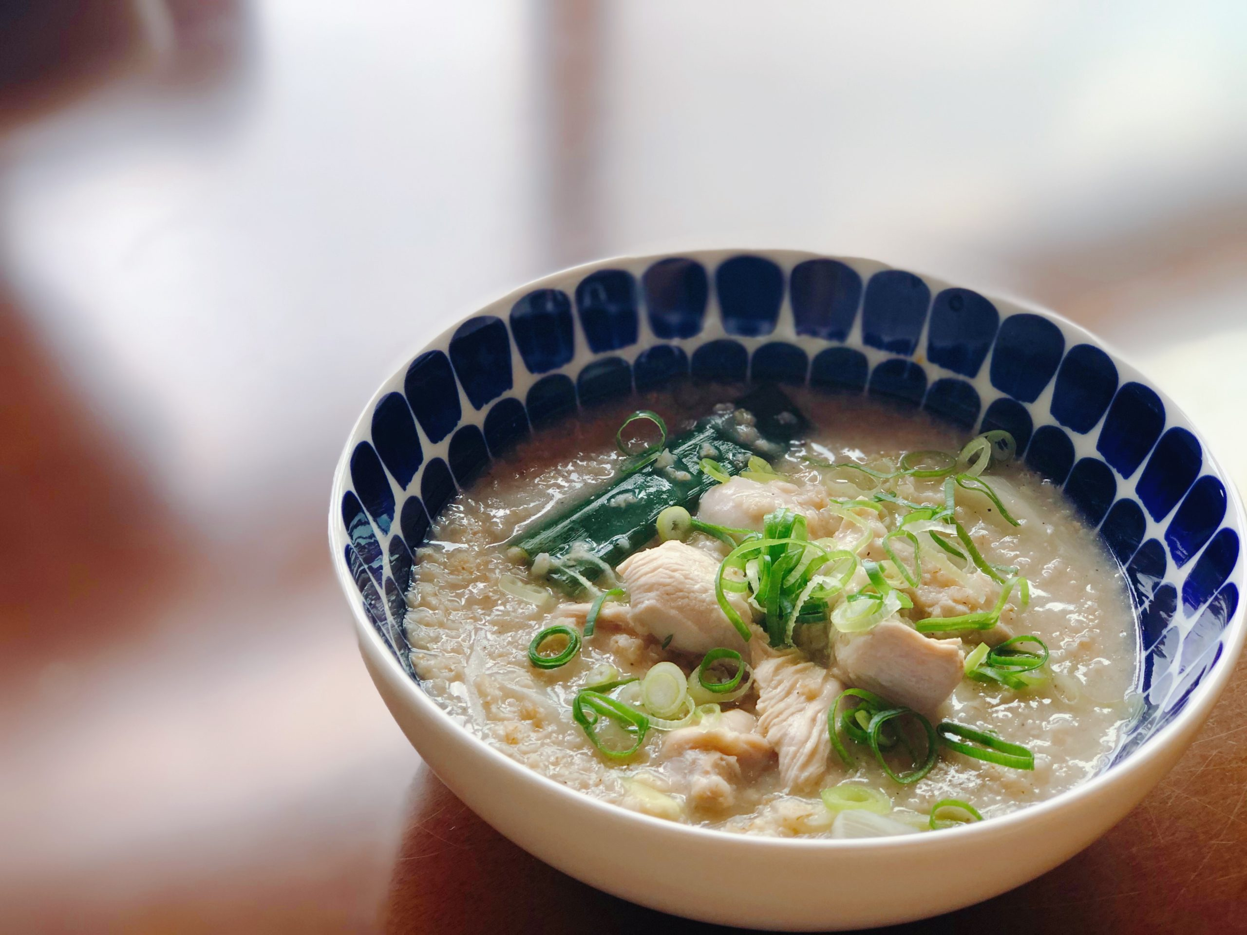 オートミール参鶏湯