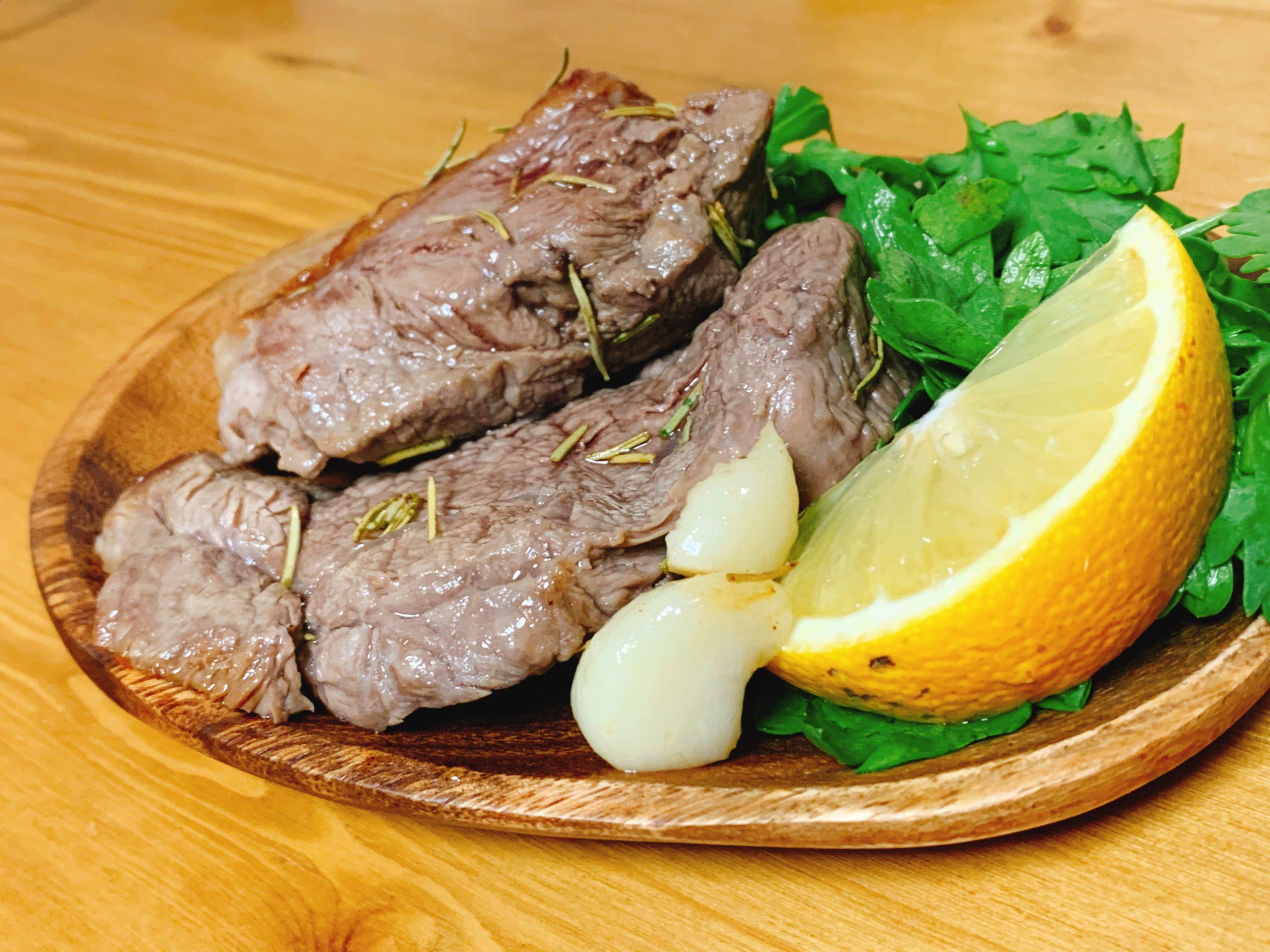 【低脂質】ラム肉のロースト