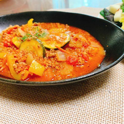 【パレオ】トマトチリ煮込み