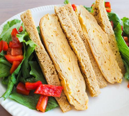 ブランパンで作る!ふわふわ卵サンド