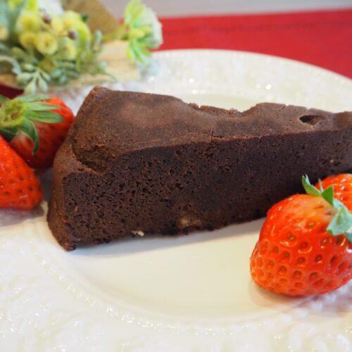 レンチン!簡単チョコレートケーキ