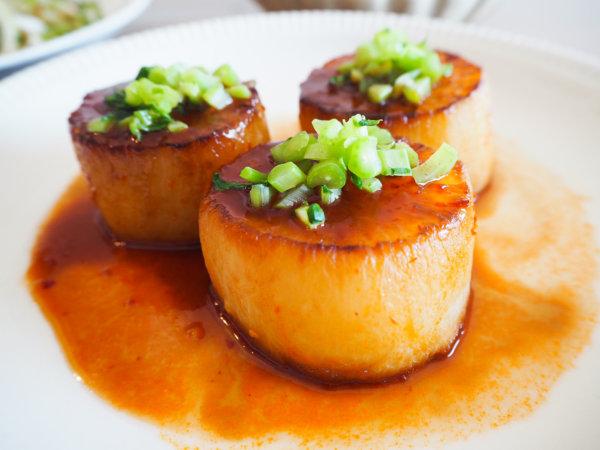 ダイエットに最高!ローカロリーの大根のピリ辛ステーキ