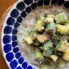 きゅうりとオクラの和え麺